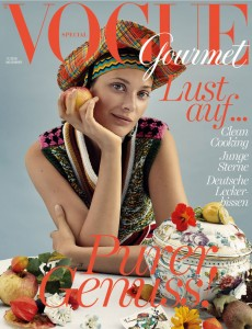 Rosenfeines Vogue Titelbild